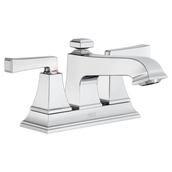 American Standard 7455217.002 – Town Square S Centerset Faucet with Red/Blue Indicators
