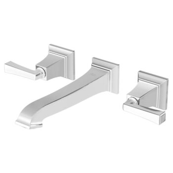 American Standard 7455451.002 – Town Square S Two-Handle Wall Mount Faucet