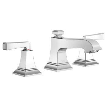 American Standard 7455811.002 – Town Square S Widespread Faucet with Red/Blue Indicators