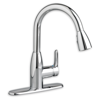 American Standard – 4175.300.F15.002 – Colony Soft – 1 Handle High Arc Pull Down Kitchen Faucet