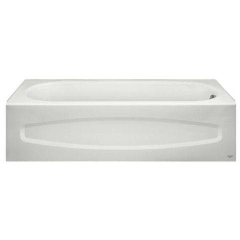 American Standard 0182S00.020 - Colony Recess 5 x 30 Bathing Pool Only   Slip Resistant