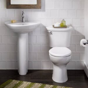 American Standard 0268444.020 - Ravenna Wall Hung Ped Combo 4in Wht