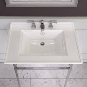 American Standard 0297008.020 - Town Square S Pedestal Sink Top | 8-inch Centers