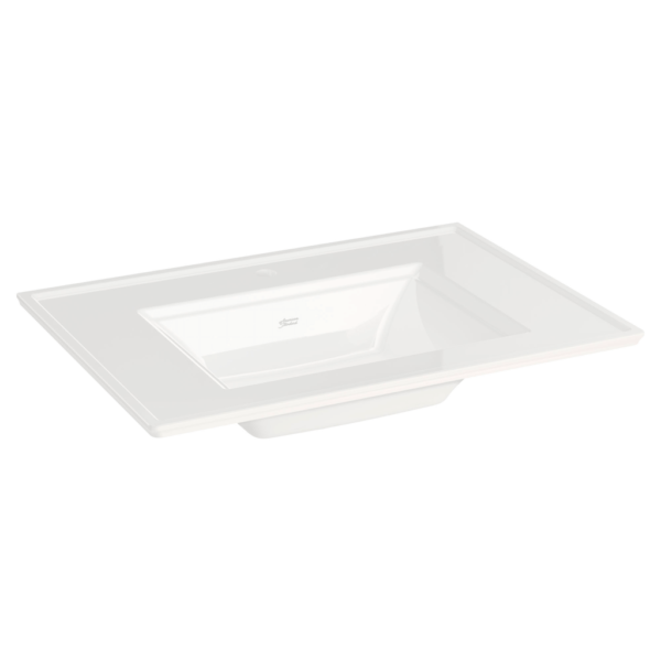 American Standard 0298001.020 - Town Square S Vanity Top - Center Hole Only