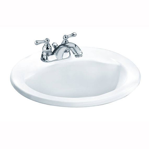 American Standard 0419444EC.021 - Cadet Everclean Oval Sink