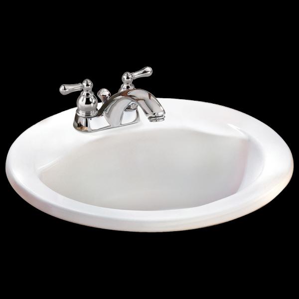 American Standard 0427444EC.020 - Cadet Everclean Round Sink