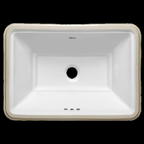 American Standard 0483000.020 - Estate Rectangular Undercounter Bathroom Sink