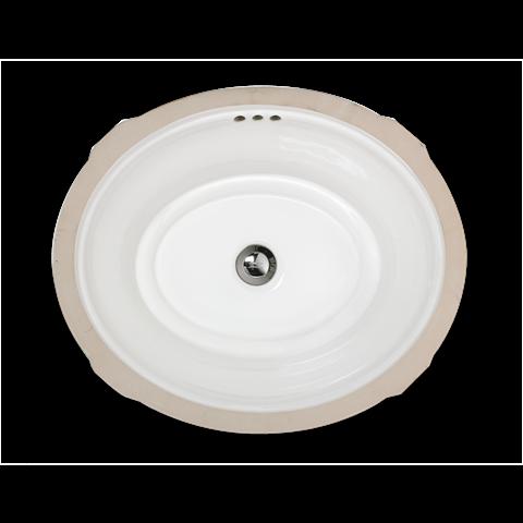 American Standard 0484000.020 - Estate Oval Undercounter Bathroom Sink