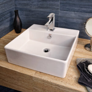 American Standard 0552001.020 - Loft Above Counter Sink with Faucet Hole