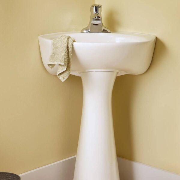 American Standard 0611400.020 - Cornice Pedestal Lavatory-4incc Wht