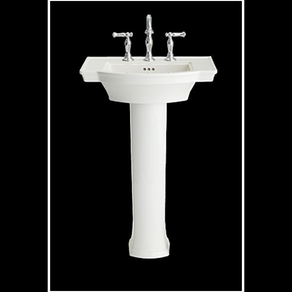 American Standard 0900008.020 - Estate Pedestal Sink Top - 8-inch Centers