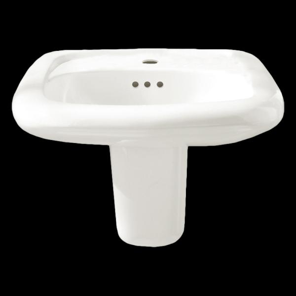 American Standard 0954904EC.020 - Murro Wall-Hung Sink Less Overflow