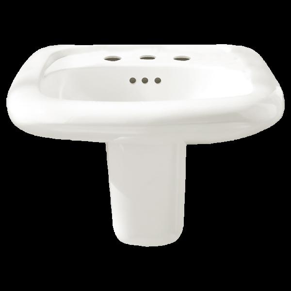 American Standard 0958908EC.020 - Murro Wall-Hung Sink Less Overflow