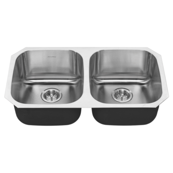 American Standard 18DB.9311800S.075 – Portsmouth 32×18 Double Bowl Stainless Steel Kitchen Sink