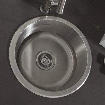 American Standard 18SB.7001600S.075 – Portsmouth 16-inch Round Bar Sink