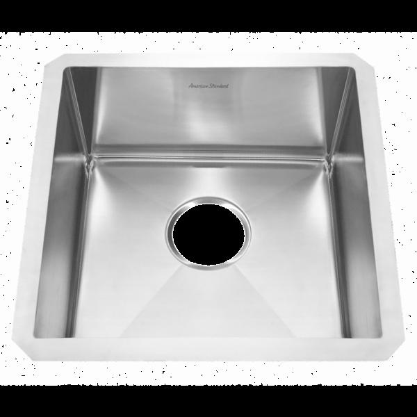 American Standard 18SB.8171700.075 - Pekoe 17x17 Stainless Steel Kitchen Sink