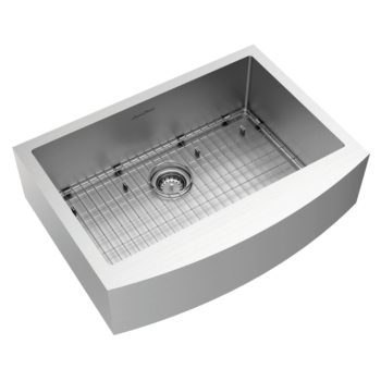 American Standard 18SB.9302200A.075 – Pekoe 30×22-inch Stainless Steel Apron Sink
