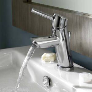 American Standard 2064131.002 - Serin Petite 1-Handle Monoblock Bathroom Faucet