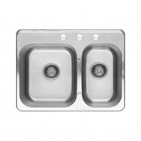 """American Standard 20CR.8272083S.075 - Colony Collection 27"""" Combination Sink"""