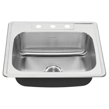 American Standard 20SB.8252283S.075 – Colony 25×22 Stainless Steel Kitchen Sink