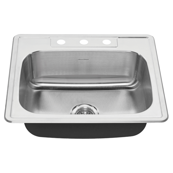 American Standard 20SB.8252283S.075 - Colony 25x22 Stainless Steel Kitchen Sink