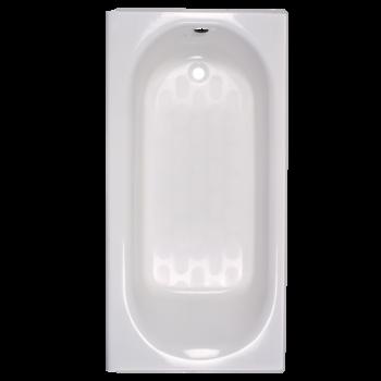 American Standard 2390202.020 – Princeton 60 Inch by 30 Inch Integral Apron Bathtub