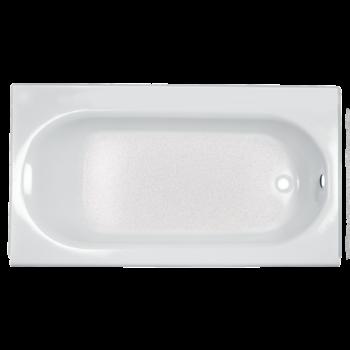 American Standard 2391202.020 – Princeton 60 Inch by 30 Inch Integral Apron Bathtub