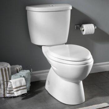 American Standard 2476216.020 – Dual Flush Nh El Combo W/sc Seat Wht