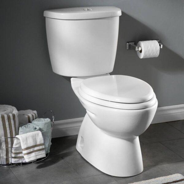 American Standard 2476216.020 - Dual Flush Nh El Combo W/sc Seat Wht