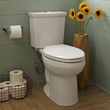 American Standard 2887518.020 – H2option Dual Flush El Combo Lined Wht