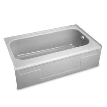 American Standard 2918RIC100 – Neu-Victor Bathtub with Integral Apron 54″ x 31″
