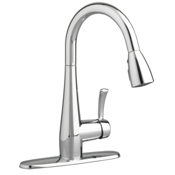 American Standard 4433300.002 – Quince 1-Handle Pull Down High-Arc Kitchen Faucet
