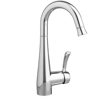 American Standard 4433410.002 – Quince 1-Handle Pull Down High Arc Bar Faucet