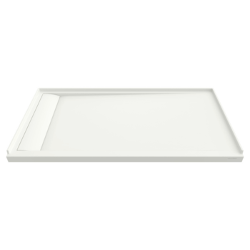 American Standard 6030SM-LHOL.218 – Townsend 60 x 30 Inch Solid Surface Shower Base – Left Drain