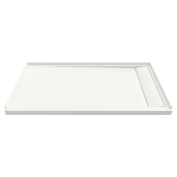 American Standard 6030SM-RHOL.218 – Townsend 60×30-inch Solid Surface Shower Base – Right Drain