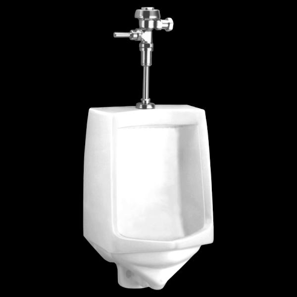 American Standard 6561017.020 - Trimbrook 1.0 gpf Siphon Jet Top Spud Urinal