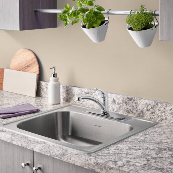 american standard 7074000 002 colony pro single handle kitchen faucet
