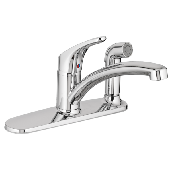 American Standard 7074030.002 - Colony PRO Single-Handle Kitchen Faucet with Integrated Side Spray