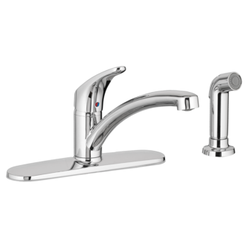 American Standard 7074040.002 – Colony PRO Single-Handle Kitchen Faucet with Side Spray