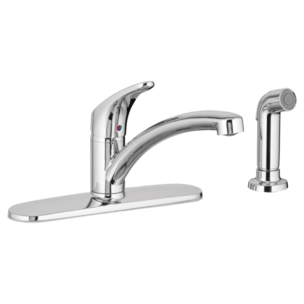American Standard 7074040.002 - Colony PRO Single-Handle Kitchen Faucet with Side Spray