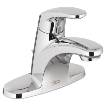 American Standard 7075000.002 – Colony PRO Single-Handle Bathroom Faucet with Metal Drain