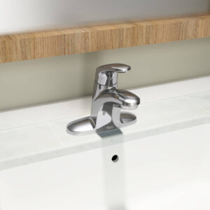 American Standard 7075000.002 - Colony PRO Single-Handle Bathroom Faucet with Metal Drain