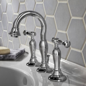 American Standard 7440801.002 - Quentin 2-Handle 8 Inch Widespread High-Arc Bathroom Faucet