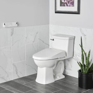 American Standard 8018A60GRC-020 - Advanced Clean 3.0 SpaLet Bidet Seat with Remote Control Operation