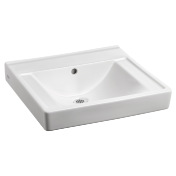 American Standard 9024000EC.020 – Decorum Wall-Hung Sink with EverClean