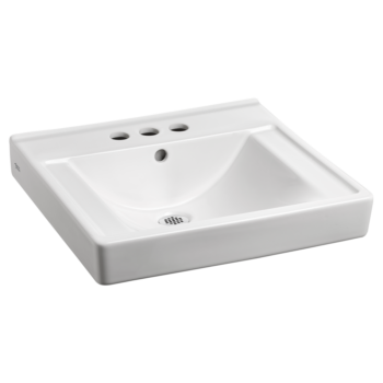 American Standard 9024004EC.020 – Decorum Wall-Hung Sink with EverClean