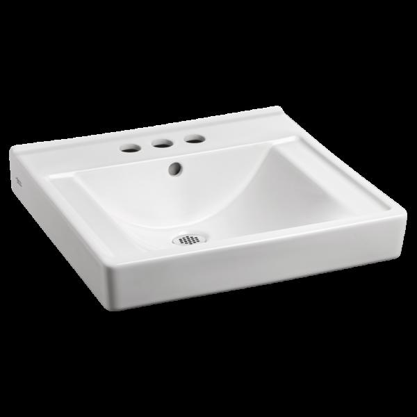American Standard 9024004EC.020 - Decorum Wall-Hung Sink with EverClean