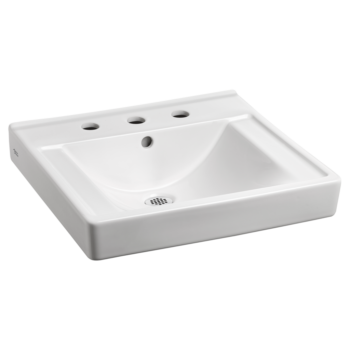 American Standard 9024008EC.020 – Decorum Wall-Hung Sink with EverClean