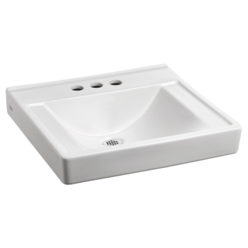 American Standard 9024904EC.020 – Decorum Wall-Hung Sink with EverClean Less Overflow