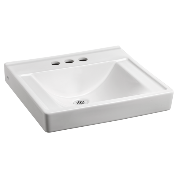 American Standard 9024904EC.020 - Decorum Wall-Hung Sink with EverClean Less Overflow